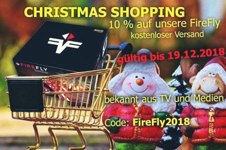 Christmas-Shopping: 10 % aufFireFly