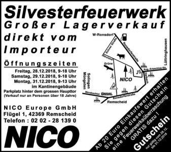 Lagerverkauf in Remscheid