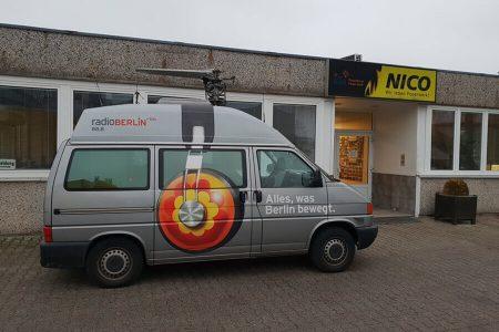 Radio Berlin zu Gast bei NICO