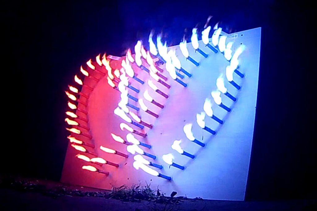 easybox lichterbild doppelherz abbrand
