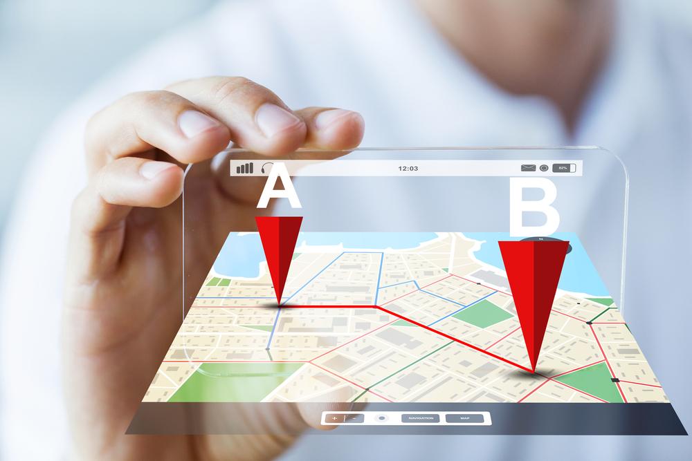 nico europe unternehmen company standorte locations smartphone landkarte hologramm strecke a nach b
