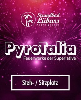 Gewinnspiel PyroTalia Lübars Ticket