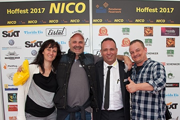 nico europe hoffest 2017 empfang