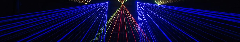 nico europe hoffest 2017 lasershow blaue laserstrahlen