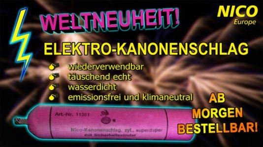 NEU: Der Elektro-Kanonenschlag