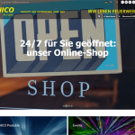 nico europe website ansicht shop banner