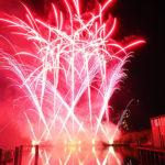Feuerwerk am Wasser mit NICO Lichterbild