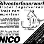 Anzeige NICO Lagerverkauf Remscheid 2019 mit Gutschein