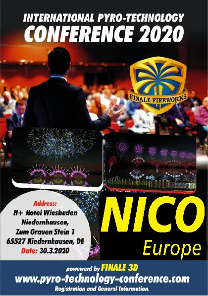 Flyer International Pyro-Technology Conference 2020 30.03.2020 NICO Europe